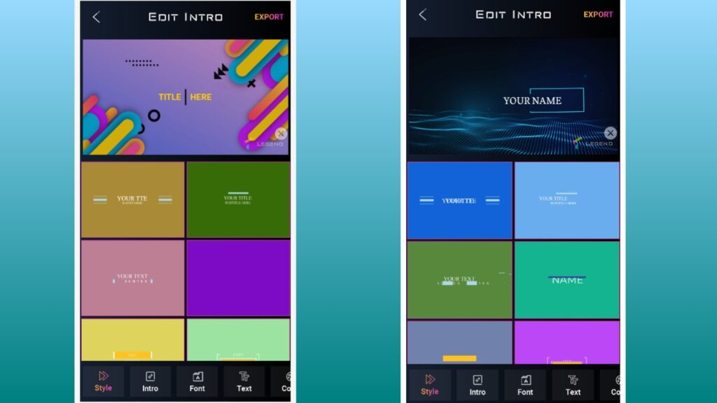 Best Intro Maker App For Your YouTube Videos    Best Intro Maker App