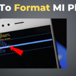 how to format mi phone