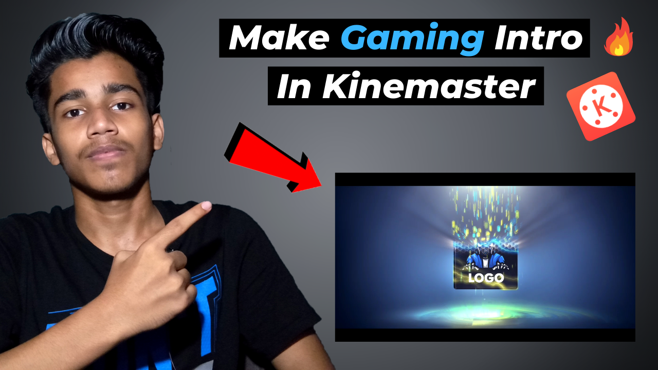 this gaming intro is very easy to make on any android device with the help of the Kinemaster application using this Kinemaster application you can make this type of intro this intro full tutorial available on this youtube channel. How To Make Gaming Intro In Kinemaster On Android || Gaming Intro Tutorial In Kinemaster