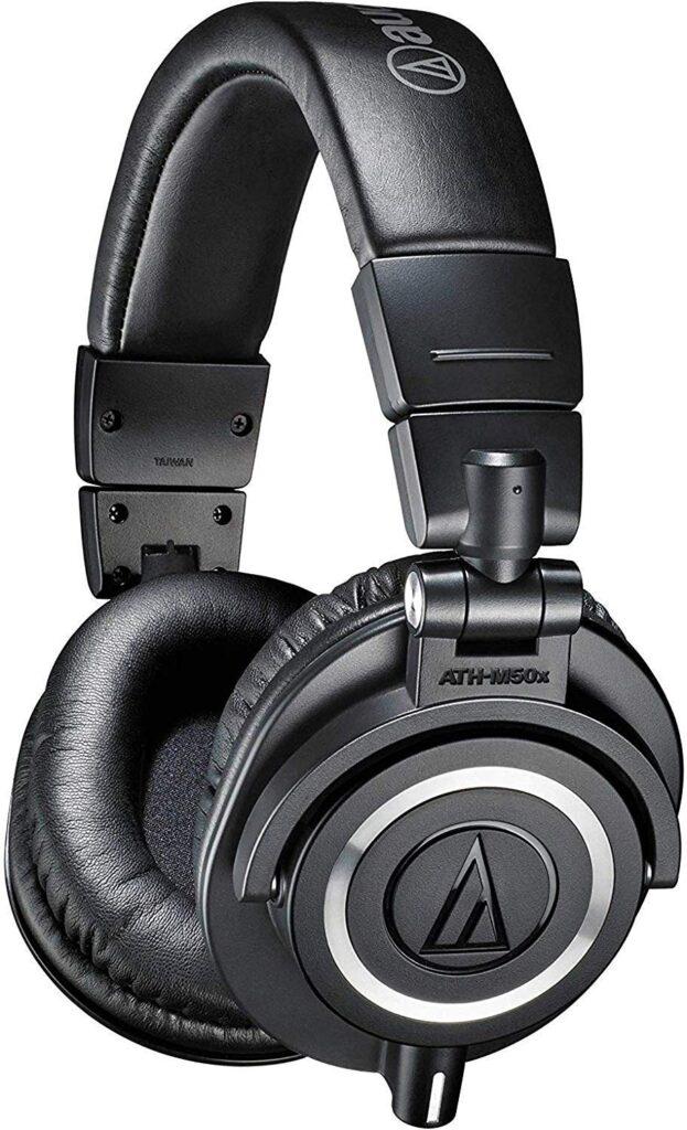 Audio Technica ATH-M50x Bluetooth Headphones.