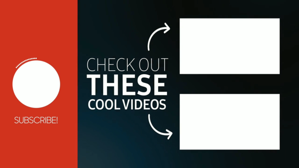 Top 5 Outro & Endscreen Template Free Download || Non Copyright